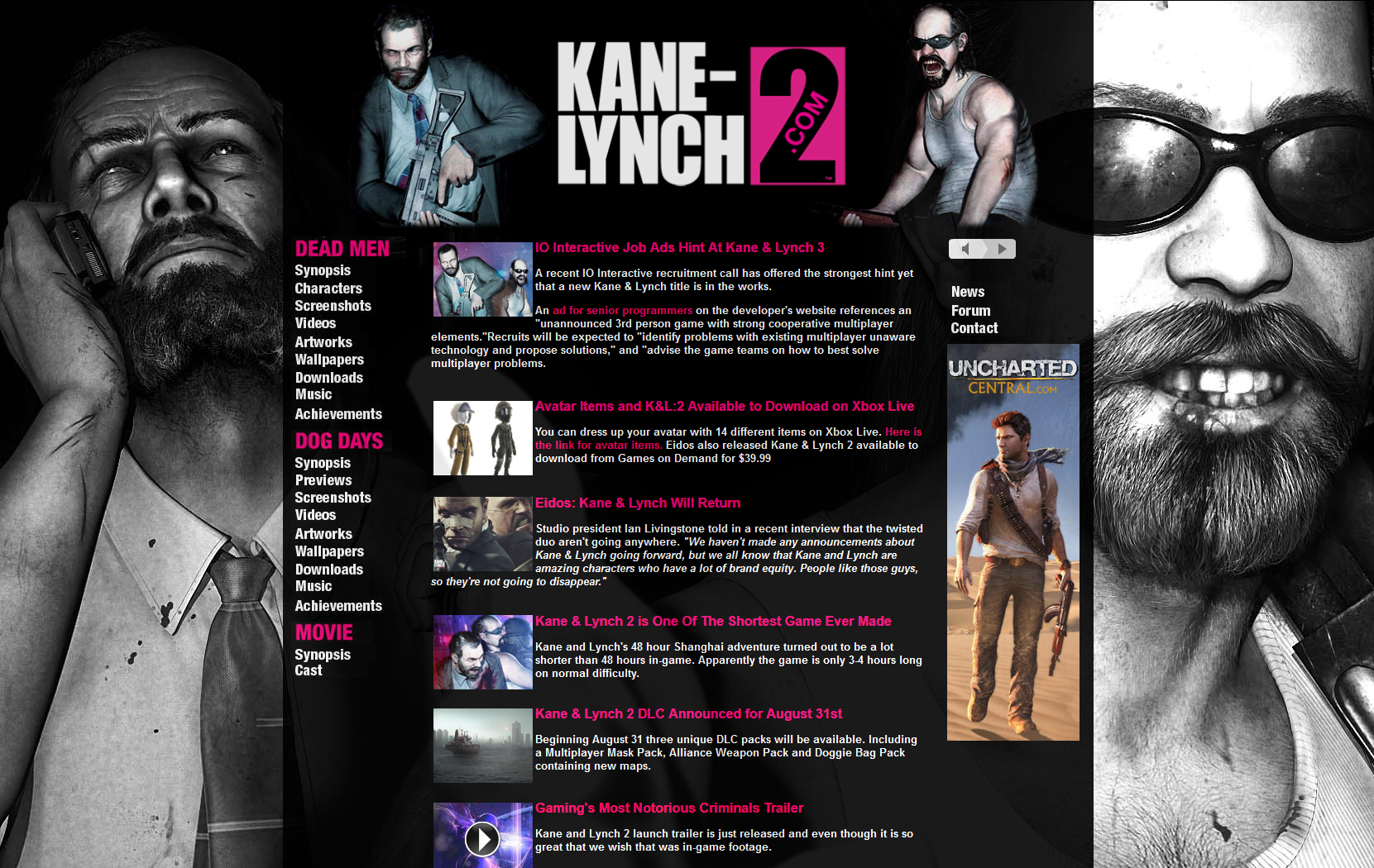 Название: kane and lynch: dead men english only жанр: action год выхода: 2007 язык